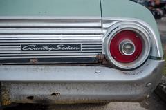 Country Sedan - Tail Light (robert.j.bruner) Tags: station vintage wagon lexington district distillery