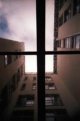 Look up! (somekeepsakes) Tags: berlin film architecture analog germany deutschland lomo lca europa europe architektur analogue 2010 dmparadies200