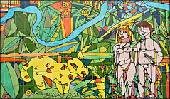 Curitiba, Paran, Brasil - 'O Descobrimento das Cataratas' do Rogrio Dias 02 (Markus Lske) Tags: brazil woman art paran girl brasil mujer chica arte kunst femme mulher brasilien curitiba parana frau menina fille dias mdchen ragazza rapariga rogrio maedchen lueske lske rogriodias