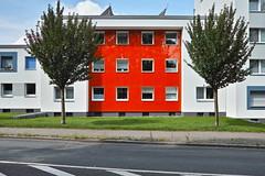 schn rot (Dirk Stenzel) Tags: street red tree rot sigma haus sunny baum merrill dp1 flottmann