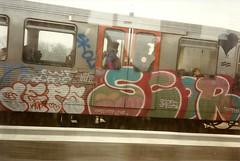 Deps, Scor (DrGarageland) Tags: amsterdam subway graffiti metro 1992 piece deps scor