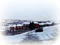 Snowy roof tops (jayneyyy) Tags: christmas city roof winter sky white house snow rooftop home nature beautiful weather skyline soft pretty skies cityscape natural snowy sheffield yorkshire magical softly southyorkshire
