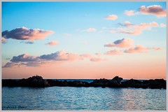 Nuvole rosa (alicedoro1) Tags: sardegna tramonto nuvole mare cielo alghero