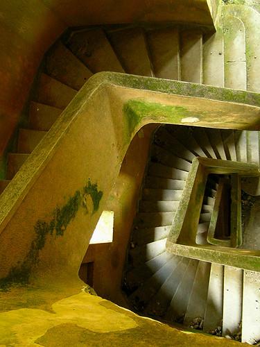 Kampot - Staircase