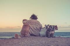 Beautiful sunset...beautiful family