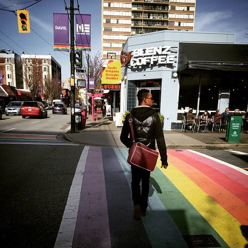 #gay village in Vancouver's West end #yvr #bc