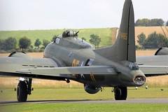 Boeing B-17 Flying Fortress 'Sally B', Flying Legends 2014, Duxford UK (Jeroen.B) Tags: show uk b flying flickr air sally b17 legends duxford boeing fortress warbird airfield 2014 gbedf egsu flyinglegends2014