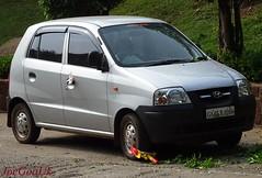 Wheel Clamping in operation (joegoauk73) Tags: clamp traffic fine goa police violation clamping joegoauk