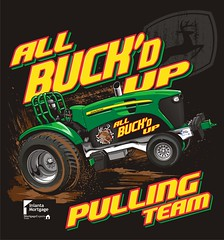 "All Buck'd Up Pulling Team - Auburndale, WI • <a style=""font-size:0.8em;"" href=""http://www.flickr.com/photos/39998102@N07/16292663702/"" target=""_blank"">View on Flickr</a>"