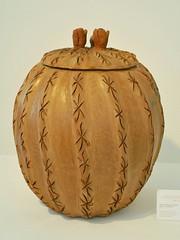 Pottery Ceramics Biznaga Mexican Puebla (Teyacapan) Tags: cactus museum mexico folkart crafts artesanias mexican puebla biznaga metzontla