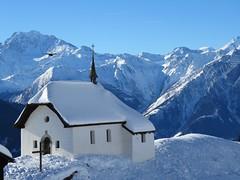 Bettmeralp (ISO 69) Tags: schnee winter snow alps schweiz switzerland suisse chapel alpen wallis valais kapelle bettmeralp aletscharena
