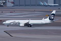 Alaska Airlines Boeing 737-900ER N469AS (jbp274) Tags: las airport airplanes boeing klas mccarran 737 alaskaairlines