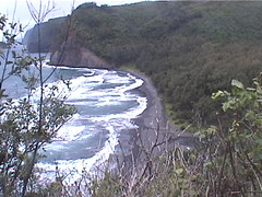 Pololu Valley from the path