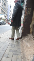 Hidden Camera - Daddy's tan loafers (TBTAOTW2011) Tags: street camera old man leather daddy shoe photo shoes dad shot candid beefy tan hidden belly mature loafers loafer
