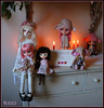 Happy Valentine's Day 2015 (Melacacia ☽) Tags: love happy other berry dolls day jerry valentines blythe custom each 2015 zaloa middie imda melacacia tutubella sweetredcottage