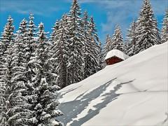Hochalm (1 von 2) (Heinrich Plum) Tags: alps fuji hut alpen skitour x10 hochalm heutal heinrichplum