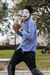 Groovin' at Memorial Park (jonworth) Tags: unitedstates riverside dancing florida places jacksonville mime memorialpark activities juking specificplaces