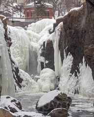 The Great Falls of the Passaic River, Paterson, New Jersey (jag9889) Tags: park winter usa ice waterfall newjersey unitedstates nps unitedstatesofamerica nj landmark paterson icy nationalparkservice gardenstate icycle 2015 passaicriver nationalregisterofhistoricplaces nrhp passaiccounty patersongreatfalls jag9889 20150221