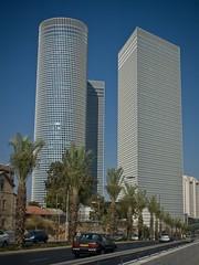 Hochhäuser in Tel Aviv