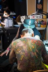 8.9.3 (Not-the-average-Joe) Tags: world paris france tattoo japanese grande convention tintin halles villette mondial tatouage 2015