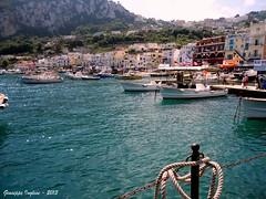Marina Grande (Giuseppe Inglese) Tags: sea italy panorama landscape boats island capri nikon italia mare campania barche coolpix isola s3000 marinagrande isoladicapri provinciadinapoli fotofficine giuseppeinglese