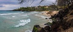 Hapuna Gone (TomBenedict) Tags: hawaii erosion bigisland split hapunabeach