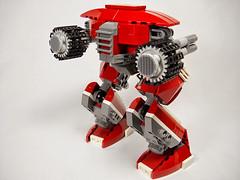 La Brute (Peter deYeule) Tags: lego space walker scifi mecha mech