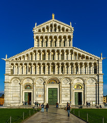 Pisa: Cathedral Exterior (Falcdragon) Tags: city italy tower church cathedral sony pisa tuscany alpha a7 gordonconference ilce7