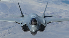 Lockheed Martin F-35A Lightning II Aerial Refueling (Norman Graf) Tags: plane airplane aircraft stealth jsf jointstrikefighter f35 lockheedmartin 5thgeneration lightningii ctol f35a fifthgenerationfighter conventionaltakeoffandlanding