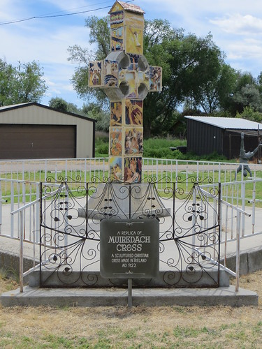 Muiredach Cross replica