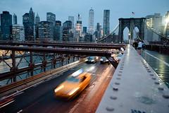 New York (littletower.photo - www.giuseppetorretta.it) Tags: giuseppetorretta d750 newyork nikon wwwgiuseppetorrettait brooklyn bridge nyc taxi vsco vscokodakportra400