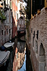 refections on a canal - venice, italy (christinathomas@att.net) Tags: venice italy fish color reflection water boats island canal colorful artistic grand palace piazza grandcanal sanmarco sangiorgio