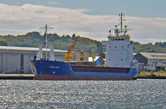 Fehn Luna (GI) (Kay Bea Chisholm) Tags: ship vessel birkenhead gibraltar dukestbridge generalcargo westfloatdock fehnluna