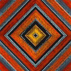 Abstract (fstop186) Tags: red orange brown abstract lines gold warm pattern shadows boxes cracks repeating diagonals