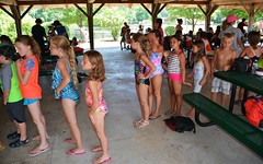 TSC 072216 332 (Tolland Recreation) Tags: boys girls kids children youth summer camp tweens teens teenagers water fun games activities waterslide pond lake swimming leisure recreation tolland connecticut jumping diving raft tsc072216