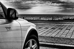 Volvo C30 at the Beach (sare____) Tags: volvo zandvoort c30 volvoc30
