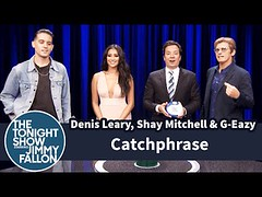 Catchphrase with Denis Leary, Shay Mitchell and G-Eazy (Download Youtube Videos Online) Tags: catchphrase with denis leary shay mitchell geazy