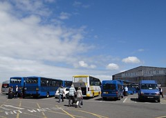 Jersey Airport (Coco the Jerzee Busman) Tags: tantivy blue coach bus tours jersey uk channel islands