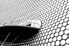 Enter into the Unknown (Yelsel_R) Tags: architecture bw birmingham city exterior bull ring bullring