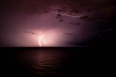 Myrtle Beach, S.C. (Trevor K Thomas) Tags: clouds dark ominous lightning thunderstorms