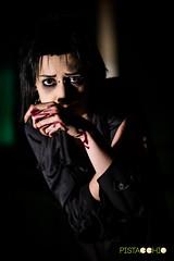 DSC_8300 (Pist@cchio) Tags: modeling nikon d810 modelle pistacchio ragazza art pose goth gothic model gotico cosplay girls portrait bizzarre light blood ghost death abandoned makeup