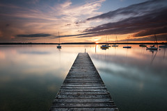 another silent minute (Robert_Freytag) Tags: ammersee sundown nd gnd nikon d810