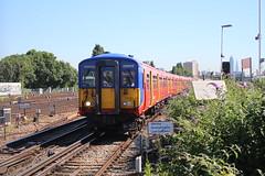 5902 (matty10120) Tags: west bus train south rail railway trains junction class clapham 455 transprot