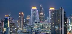DSC_3813 (Ignacio Blanco) Tags: thailand bangkok metropolis oriental orientalcity future night lighttrails longexposure infrastructure highway cityscape skyscrapers skyline vantagepoint ratchapraroptowermansion