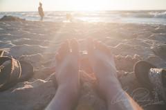 Not a Worry in the World (IRick Photography) Tags: feet foot sand sandy beach sun sunshine sunset sunsetting setting flip flops serenity calm calmness lake michigan great lakes indiana dune dunes