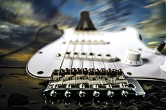 Rock me to the heaven... (bjrn_c) Tags: rock electric guitar heaven cloud sky coastline abstract acoustic art backdrop background black classic classical close closeup color concepts contour crack culture dirty grunge hard heavy illustration image instrument isolated ivory jazz macro melody messy metal music musical neck nobody note old pickup retro revival rough sound string strings style