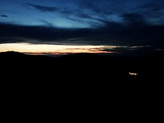 Midnight (valelle) Tags: nature love sun frontignano umbria tramonti midnight