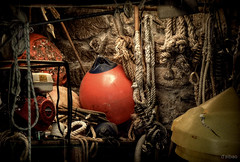Mi favorita (2010) con Lumix (Franco DAlbao) Tags: francodalbao dalbao lumix taller workshop marinero barcos boats mar sea aparejos luz light cabos ropes navegacin sailing objetos objects