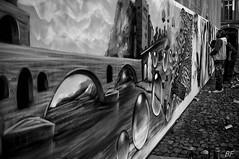 """"""" On y danse..on y danse!!!!"""" (poupette1957) Tags: art atmosphre architecture affiche black city curious deco detail exposition french fresque fuji grandangle graphisme graph humanisme humour imagesingulires life landscape man monochrome noiretblanc noir photographie people avignon rue street urban ville voyage"""