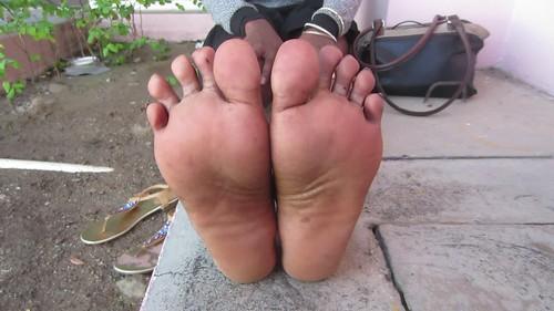 Beautiful ticklish indian feet 6